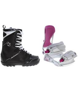 Northwave Dime Snowboard Boots w/ Avalanche Serenity Bindings