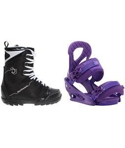 Northwave Dime Snowboard Boots w/ Burton Stiletto Bindings