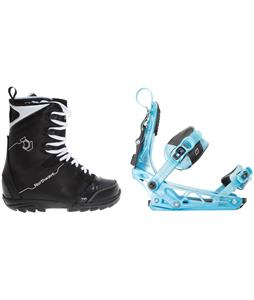 Northwave Dime Snowboard Boots w/ K2 Cinch Tryst Bindings