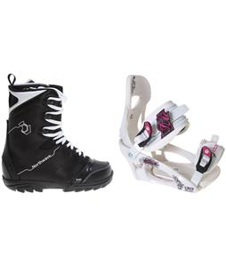 Northwave Dime Snowboard Boots w/ LTD LT250 Bindings