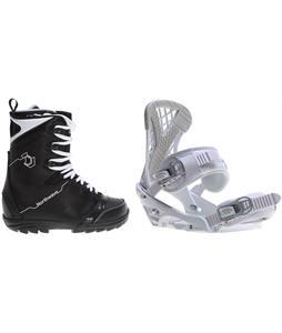 Northwave Dime Snowboard Boots w/ Sapient Zeta Bindings