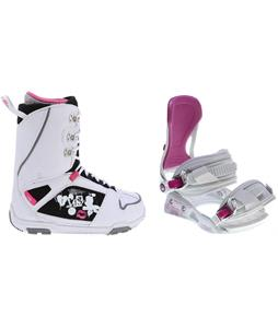 M3 Cosmo Snowboard Boots w/ Avalanche Serenity Bindings