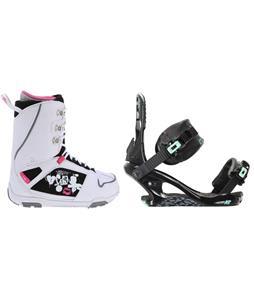 M3 Cosmo Snowboard Boots w/ K2 Yeah Yeah Bindings
