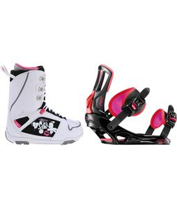 M3 Cosmo Snowboard Boots w/ Rossignol Myth Bindings