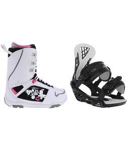 M3 Cosmo Snowboard Boots w/ Chamonix Bellevue Bindings