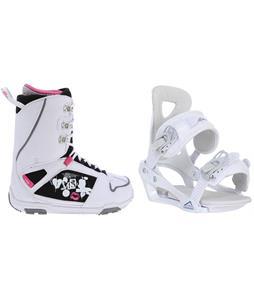 M3 Cosmo Snowboard Boots w/ Chamonix Brevant Bindings