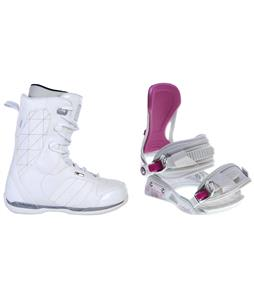 Ride Donna Snowboard Boots w/ Avalanche Serenity Bindings