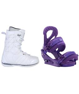 Ride Donna Snowboard Boots w/ Burton Stiletto Bindings