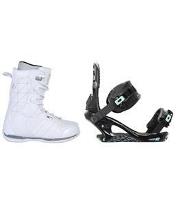 Ride Donna Snowboard Boots w/ K2 Yeah Yeah Bindings