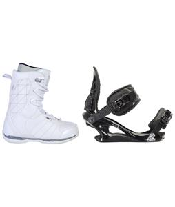 Ride Donna Snowboard Boots w/ K2 Charm Bindings