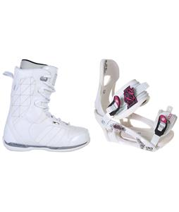 Ride Donna Snowboard Boots w/ LTD LT250 Bindings