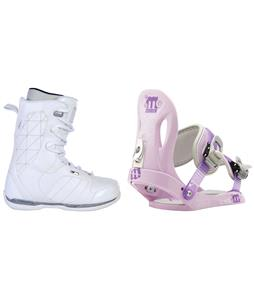 Ride Donna Snowboard Boots w/ Morrow Slider Bindings
