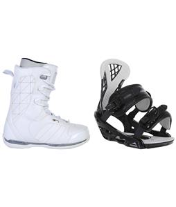 Ride Donna Snowboard Boots w/ Chamonix Bellevue Bindings
