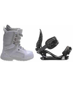 Sapient Zeta Snowboard Boots w/ K2 Charm Bindings