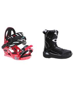 5150 Brigade Snowboard Boots w/ K2 Kat Bindings
