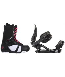 Sapient Proven Snowboard Boots w/ K2 Charm Bindings