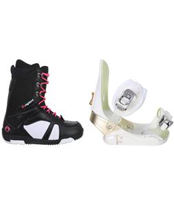 5150 Starlet Snowboard Boots w/ Burton Stiletto Smalls Bindings