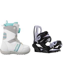Burton Zipline Snowboard Boots w/ Sapient Zeus Jr Bindings