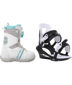 Burton Zipline Snowboard Boots w/ Chamonix Savoy Bindings