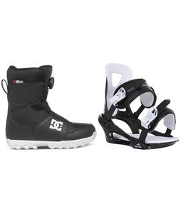 DC Scout BOA Snowboard Boots w/ Chamonix Savoy Bindings