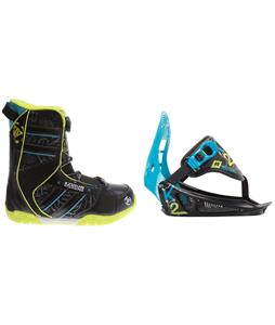 K2 Vandal BOA Snowboard Boots w/ K2 Mini Turbo Bindings