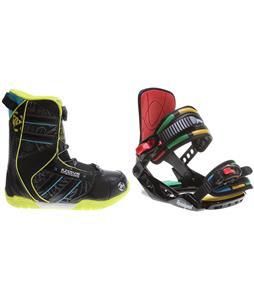 K2 Vandal BOA Snowboard Boots w/ Rossignol Rookie Bindings