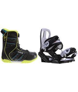 K2 Vandal BOA Snowboard Boots w/ Sapient Zeus Jr Bindings