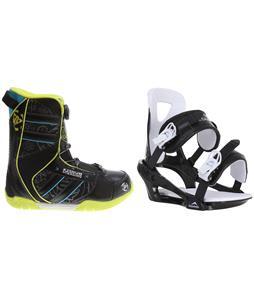 K2 Vandal BOA Snowboard Boots w/ Chamonix Savoy Bindings