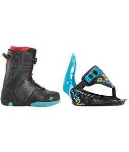 K2 Vandal Snowboard Boots w/ K2 Mini Turbo Bindings