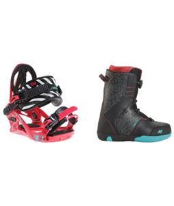 K2 Vandal Snowboard Boots w/ K2 Kat Bindings