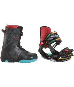 K2 Vandal Snowboard Boots w/ Rossignol Rookie Bindings