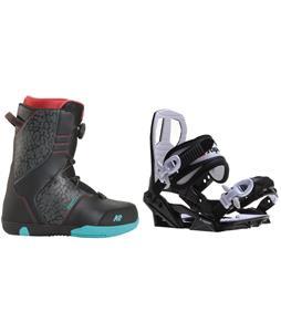 K2 Vandal Snowboard Boots w/ Sapient Zeus Jr Bindings