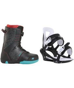 K2 Vandal Snowboard Boots w/ Chamonix Savoy Bindings