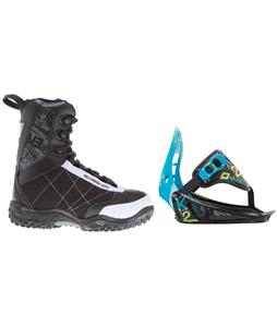 M3 Militia Jr. Snowboard Boots w/ K2 Mini Turbo Bindings