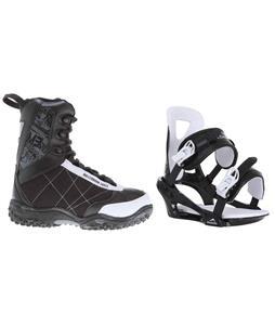 M3 Militia Jr. Snowboard Boots w/ Chamonix Savoy Bindings
