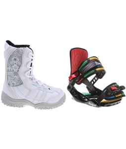 M3 Venus Jr. Snowboard Boots w/ Rossignol Rookie Bindings
