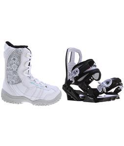M3 Venus Jr. Snowboard Boots w/ Sapient Zeus Jr Bindings