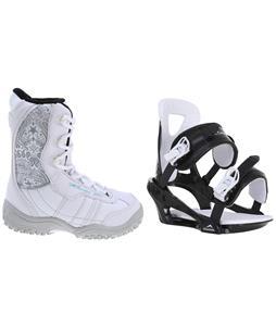 M3 Venus Jr. Snowboard Boots w/ Chamonix Savoy Bindings