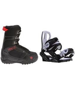 Sapient Prodigy Snowboard Boots w/ Sapient Zeus Jr Bindings