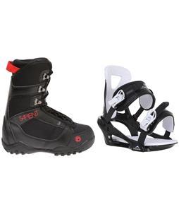 Sapient Prodigy Snowboard Boots w/ Chamonix Savoy Bindings