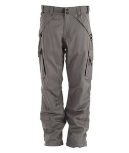 Boulder Gear Deluxe Cargo Snow Pants Gray