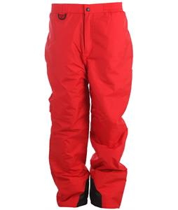 Boulder Gear Ridge Snowboard Pants Red
