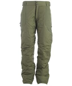 Boulder Gear Summit Snowboard Pants Army Green