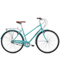 Breezer Downtown 5 ST Bike Gloss Tiffany Blue 54cm/21.25in (L)