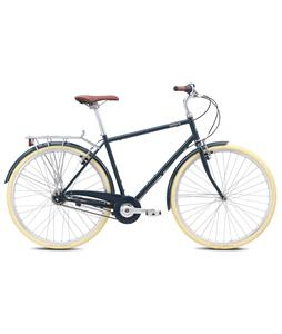 Breezer Downtown 8 Bike Gloss Dark Blue