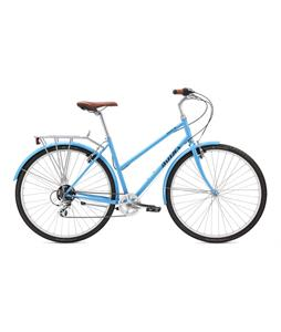 Breezer Downtown EX ST Bike Gloss Deep Sky Blue 50cm/19.75in (M)