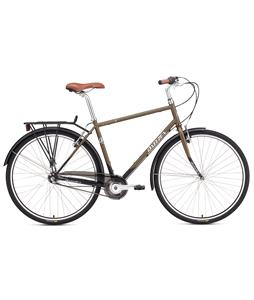 Breezer Downtown 3 Bike Dark Cypress Gold/Matte Black 52cm (M)