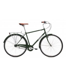 Breezer Downtown 5 Bike Gloss Dark Green 56cm/22in (L)