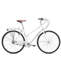 Breezer Downtown 5 ST Bike Gloss White 54cm/21.25in (L)