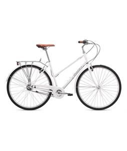 Breezer Downtown 5 ST Bike Gloss White 40cm (XS)
